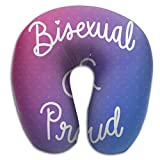 Bisexual Washable Cover Neck Pillow Spa Memory Foam U-SHAPE Flying Man