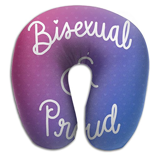 Bisexual Washable Cover Neck Pillow Spa Memory Foam U-SHAPE Flying Man by Nov