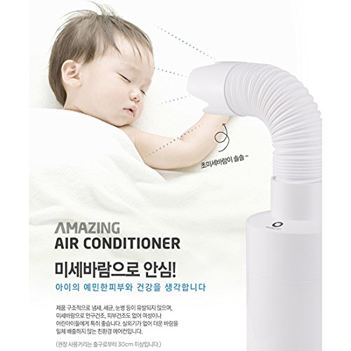 Amazing Air Conditioner Friendly, Portable, Weak Wind for Baby (Wind by Ice) by Philosophy