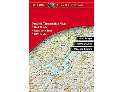 Garmin DeLorme Atlas & Gazetteer Paper Maps- Wyoming (010-12694-00)
