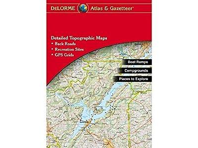 DeLorme Atlas & Gazetteer Paper Maps- Oklahoma (AA-008800-000)