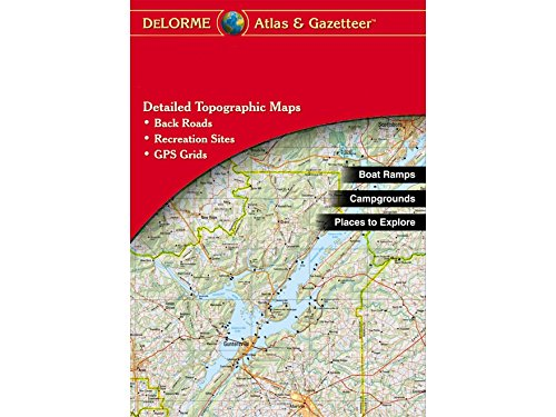 Garmin DeLorme Atlas & Gazetteer Paper Maps- Wyoming (010-12694-00) Wyoming Roads