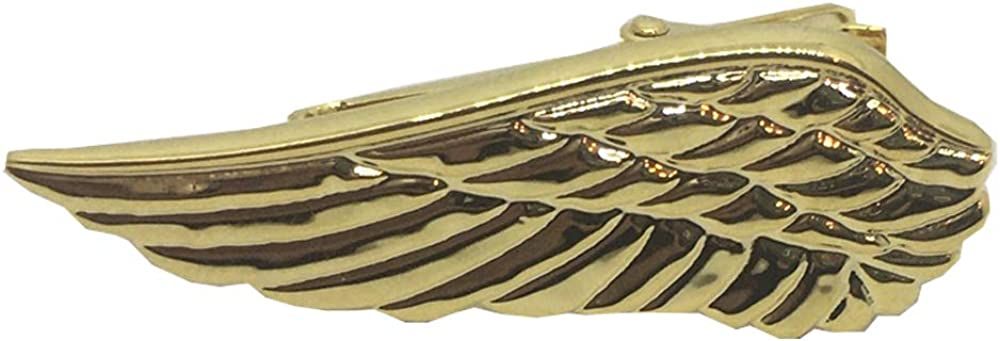 D&L Menswear Gold Plated Angel Wing Tie Clip