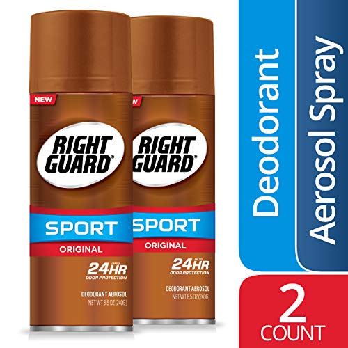 Right Guard Sport Original Deodorant Aerosol Spray, 2 Count