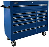 The Homak professional series rolling cabinets feature ball-bearing glides, rubber grip handle and casters.