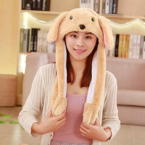 giocattolo per muoversi orecchie di coniglio danza Peluche a LED che muove il cappello di coniglio orecchie di coniglio orecchie di coniglio