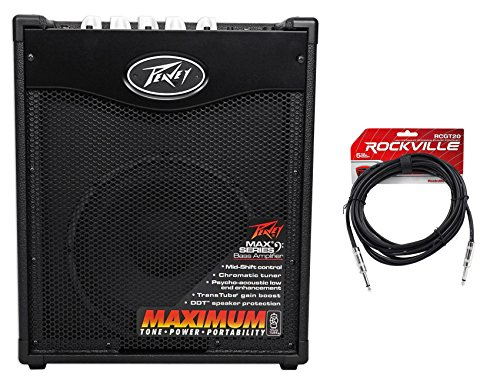 Peavey Max 110 Electric Bass Guitar Amplifier Combo Amp+10