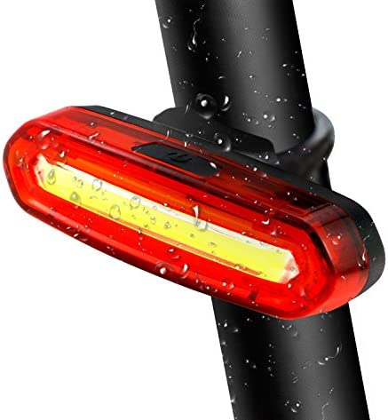 TedGem Luz Trasera para Bicicleta Recargable USB - LED Faro ...