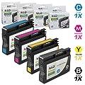 LD Remanufactured Replacements for Hewlett Packard 932XL / 932 / HP 933XL / 933 Set of 4 Inkjet Cartridges Includes: 1 CN053AN Black, 1 CN054AN Cyan, 1 CN055AN Magenta, and 1 CN056AN Yellow
