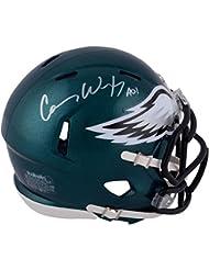 Carson Wentz Philadelphia Eagles Autographed Riddell Speed Mini Helmet - Fanatics Authentic Certified