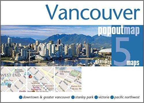 Downtown Vancouver Hotels Map on