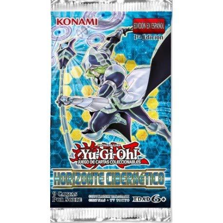 Konami YU -GI -OH Horizonte CIBERNETICO - sobre 9 Cartas ...