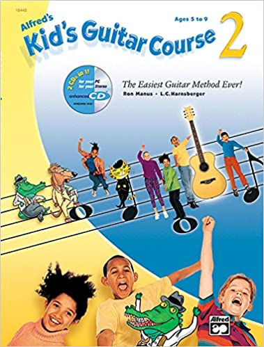 alfreds kids guitar course movie and tv songbook 1 2 13 fun arrangements that make learning even easier book cd