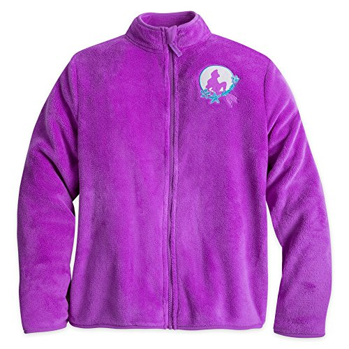 Disney Ariel Fleece Jacket for Women Purple