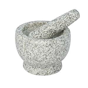 """5"""" Granite Mortar & Pestle"""