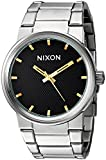 Nixon Men's 'Cannon' Quartz Stainless Steel Casual Watch, Color Silver-Toned (Model: A1602730)