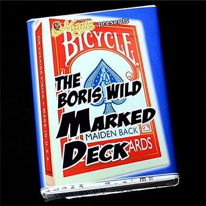 Boris Wild Marked Deck (bicycle) - red back - Tarjeta Juegos ...
