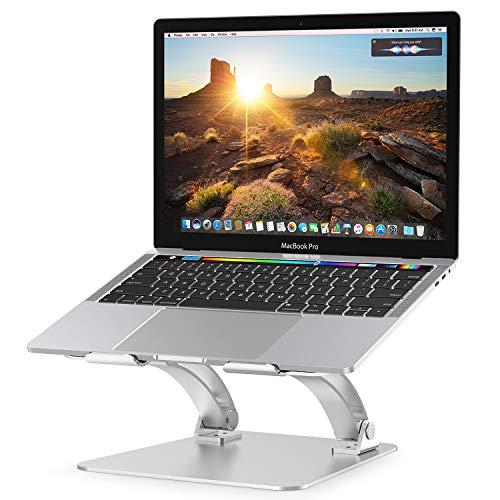 Nulaxy Laptop Stand, Ergonomic Height Angle Adjustable...