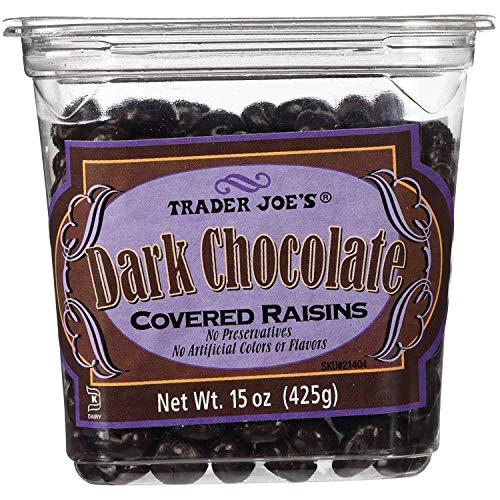 Dark Chocolate Raisin - Trader Joes Dark Chocolate Covered Raisins