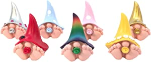 Miniature Baby Gnomes 7 Pack Collection – The Adorable Baby Gnomes for The Fairy Garden That Garden Fairies Love