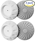 #2: Deryun 4 Pack Wall Guard Pads for Baby Safety Pressure Gates Installation Saver Protect Surface Protector
