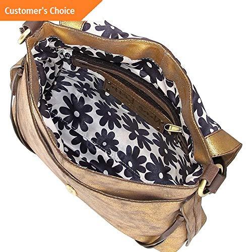 Amazon.com: Sandover Nino Bossi Freda Shoulder Bag 6 Colors | Model LGGG - 5662 |: Sandover