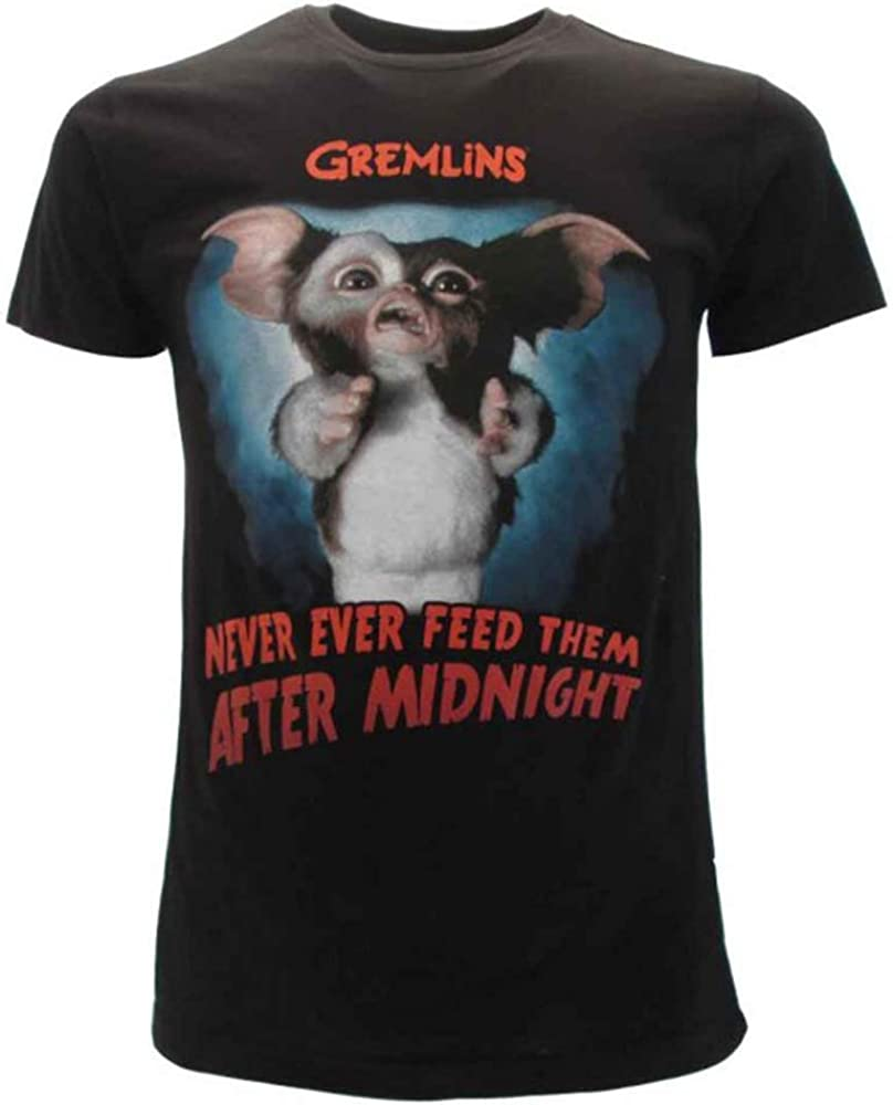 Gremlins T-Shirt Originale Ufficiale Film Cult Anni 80 Maglia Maglietta