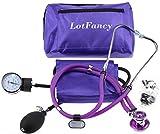 LotFancy Aneroid Sphygmomanometer & Sprague Stethoscope Kit