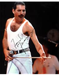 Freddie Mercury Signed Autographed 8 X 10 Reprint Photo - Mint Condition