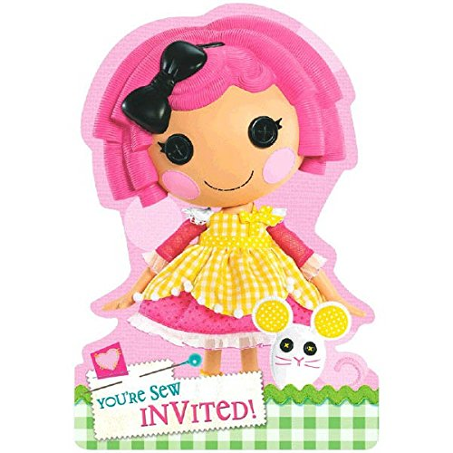 Folded Die Cut Invitations | Lalaloopsy Collection | Party Accessory