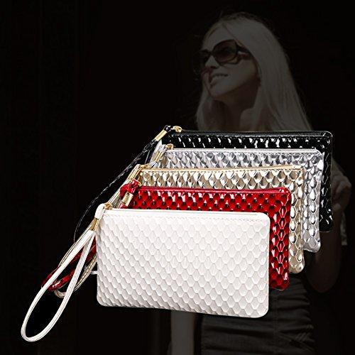 ZSL rouge Pochettes blanc Blanc 123 ZSL ZwXq8tZ