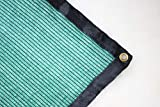 YGS 40% Green 20 ft x 48 ft Shade Cloth UV Resistant Net For Garden Flower Plant