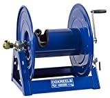 Coxreels 1125-4-200 Steel Hand Crank Hose Reel, 1/2'' Hose I.D., 200' Hose Capacity, 3,000 PSI, without Hose, Made in USA