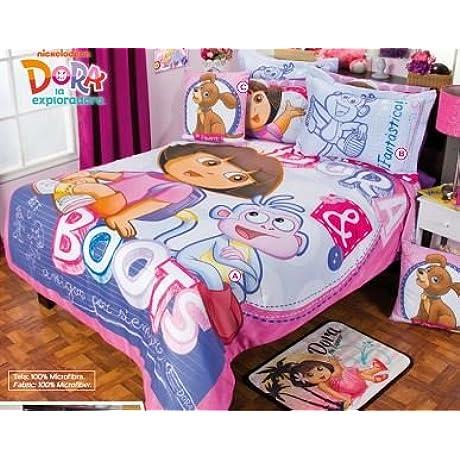 Dora Floral Comforter Set Twin