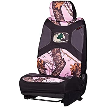 Amazon Com Browning Low Back Seat Cover Mossy Oak Pink