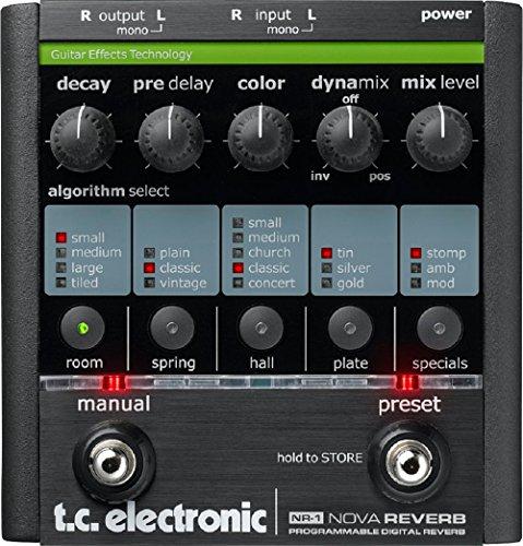 - TC Electronic NR-1 Nova Reverb Guitar Pedal