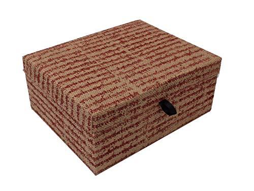storeindya for Women Wooden Keepsake Box Handmade Jewelry Storage Organizer Multipurpose Decorative Display Treasure Chest Multipurpose Box (Design 5) ()