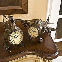 Imax Lindbergh Aviation Clock