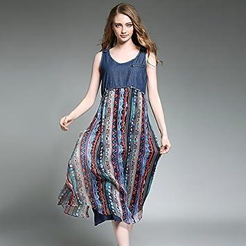 JIALELE Partido de la mujer diario de ir a la calle sofisticado Vintage chic vestido Midi
