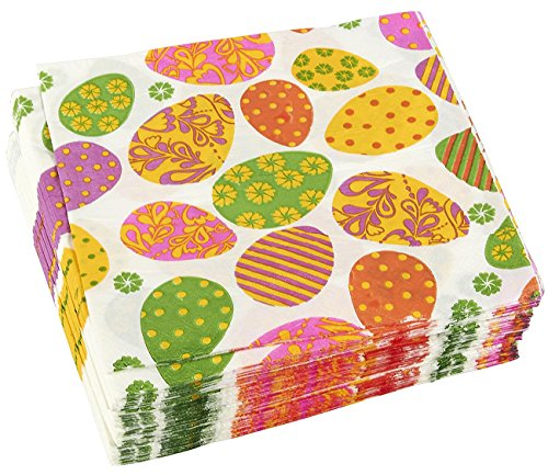 20 x Paper Napkins Full PACK  EASTER  Easter Basket Eggs  PARTY and LUNCH 216