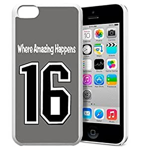 diy phone caseGXFC Case Unique Design Basketball Sportsman Uniform Where Amazing Happens 16 Pattern HD Durable Hard Plastic Case Cover for iphone 6 4.7 inchdiy phone case