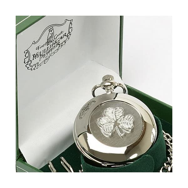 Irish-Celtic-Shamrock-Pocket-Watch-by-Mullingar-Pewter