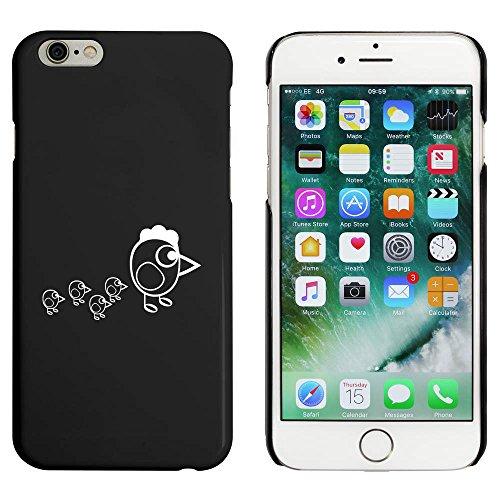 Noir 'Poulet et Poussins' étui / housse pour iPhone 6 & 6s (MC00035953)