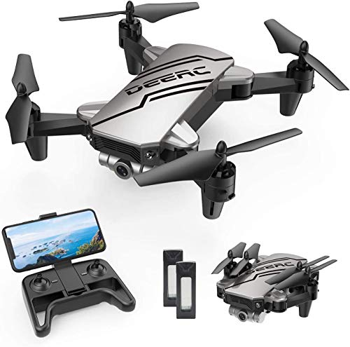 DEERC D20 Mini Drone for Kids with 720P HD FPV Camera, Foldable RC Quarcopter for Boys Girls with Altitude Hold…