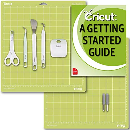(Cricut Machine Essentials:  Basic Tool Set, (2) Fine Point Blade for Cardstock, Paper and Vinyl with (2) GripMats)