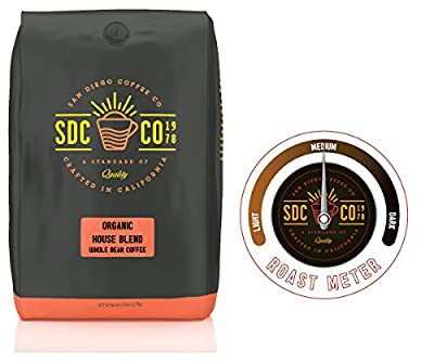 San Diego Coffee Organic House Blend, Medium Roast