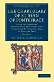 The Chartulary of St John of Pontefract, , 1108058671