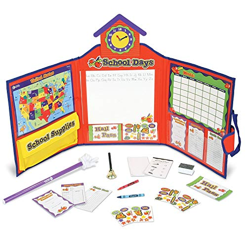 Learning Resources Pretend & Play School Set, 149 Pieces, Ages 3+ [Standard Packaging] (Renewed)