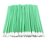 "100pcs 6.45"" Cleanroom Polyester Tip Cleaning Swabs with Flexible Paddle Tip Cleaning for Gun, Firearms, PCB, Optical Lens, Camera Sensors, Electronics and Hard-to-Reach Area CK-PS761"