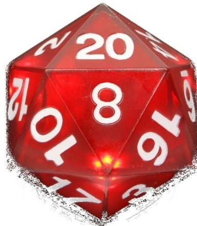 ThinkGeek Critical Hit LED D20 Die by ThinkGeek (Image #1)